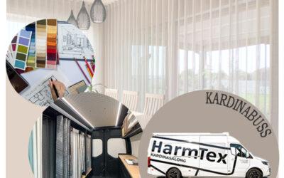 HarmTex Kardinabuss – liikuv kardinasalong!