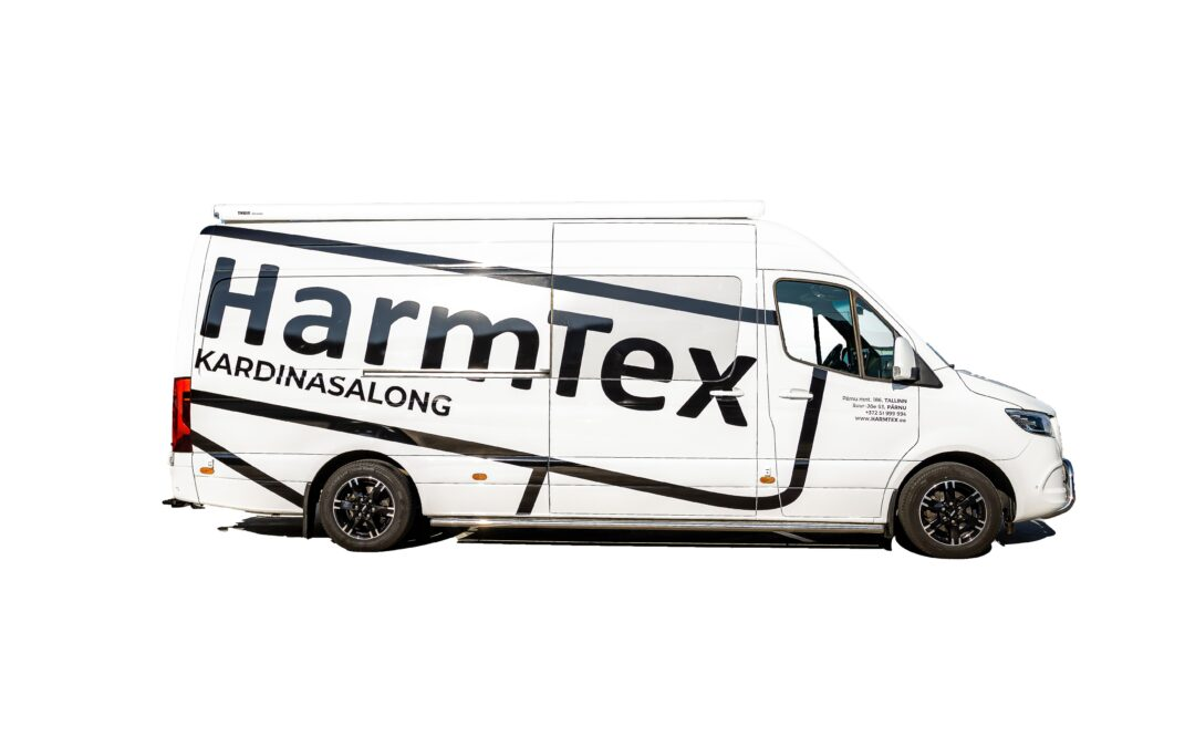 Kutsu HarmTex liikuv salong ehk kardinabuss oma koju!